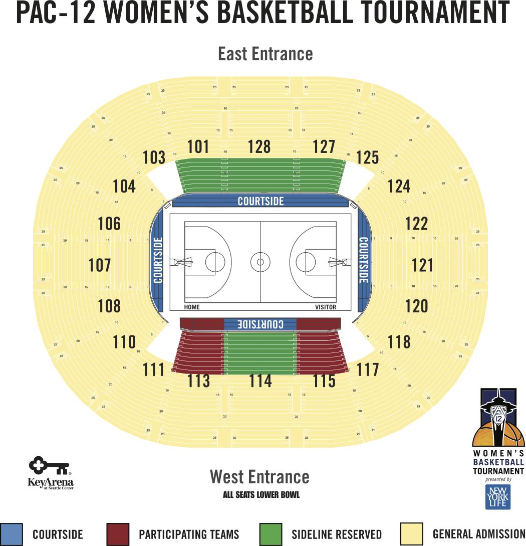 2018 Pac 12 Womens Basketball Tournament Tickets Info Pac 12